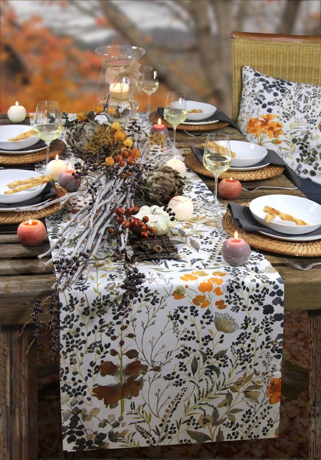 Herbsttischdecke