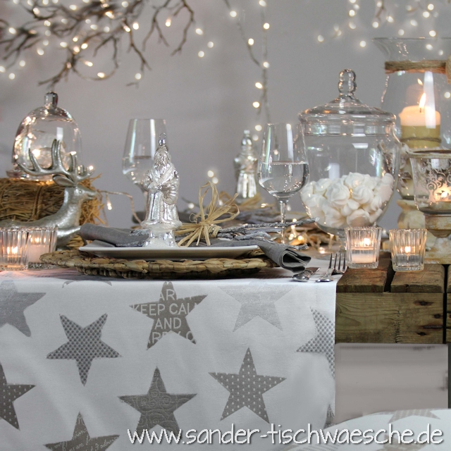 Moderne Tischdecken weihnachtstischdecken tisch decken