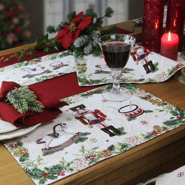 Gobelin Tischsets Weihnachten
