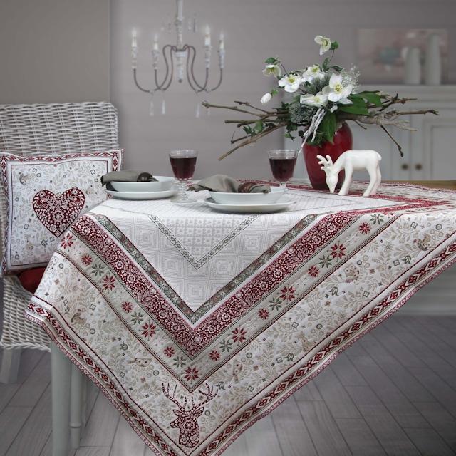 weihnachtstischl ufer tisch decken. Black Bedroom Furniture Sets. Home Design Ideas